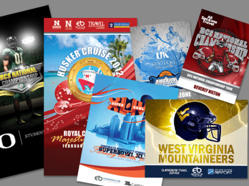 EB Sports Tours Marketing Collateral