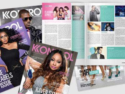 Kontrol Magazine – Publication Design