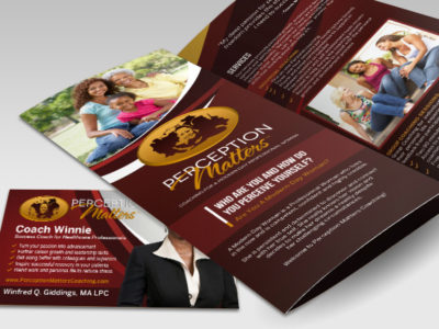 Perception Matters Promotional Collateral