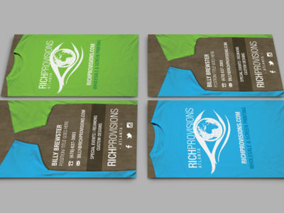 Rich Provisions Business Cards